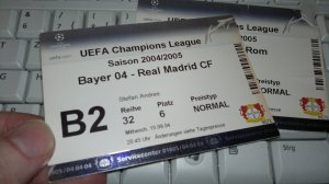 Ticket Bayer 04 Leverkusen - Real Madrid 15.09.2004